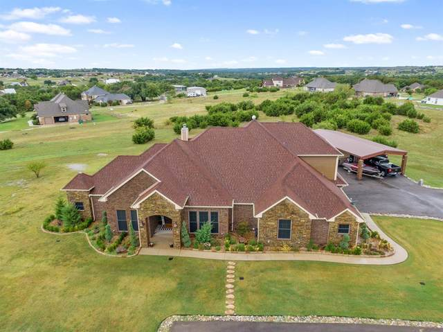 757 W Canyon Creek Lane, Weatherford, TX 76087 (MLS #14430974) :: The Mauelshagen Group