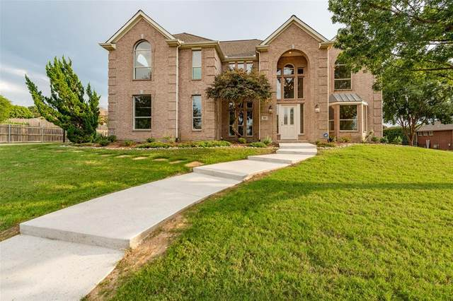 820 Weybridge Lane, Keller, TX 76248 (MLS #14431874) :: Justin Bassett Realty