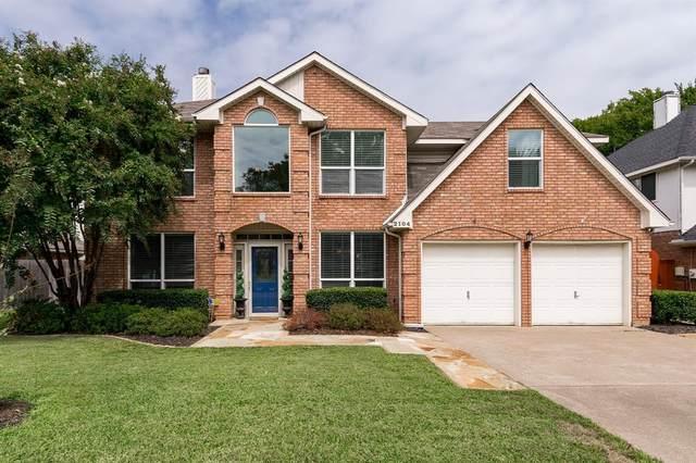 2104 S Winding Creek Drive S, Grapevine, TX 76051 (MLS #14432881) :: Keller Williams Realty