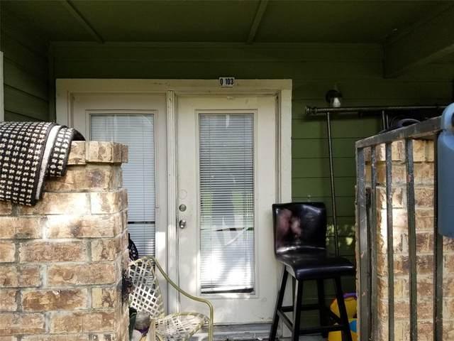 9833 Walnut Street #103, Dallas, TX 75243 (MLS #14433212) :: The Daniel Team