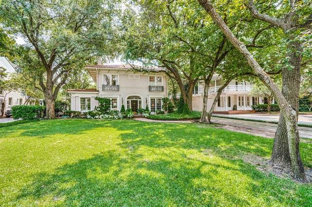 3809 Beverly Drive, Highland Park, TX 75205 (MLS #14433261) :: Front Real Estate Co.