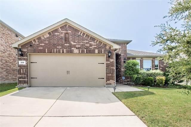 209 Callaghan Drive, Fate, TX 75189 (MLS #14433443) :: Trinity Premier Properties