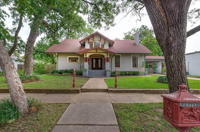 712 N Main Street, Bonham, TX 75418 (MLS #14433591) :: ACR- ANN CARR REALTORS®