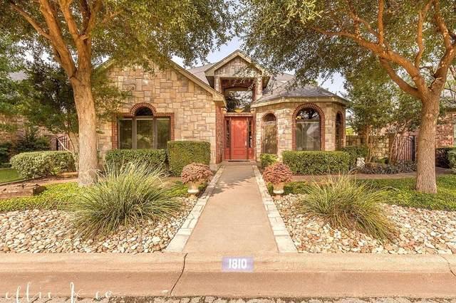 1810 Pemelton Drive, Abilene, TX 79601 (MLS #14434078) :: The Paula Jones Team | RE/MAX of Abilene