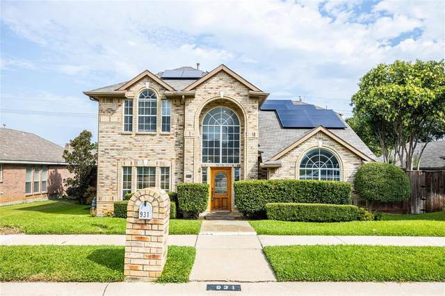 931 Royal Oaks Drive, Lewisville, TX 75067 (MLS #14434168) :: The Mitchell Group