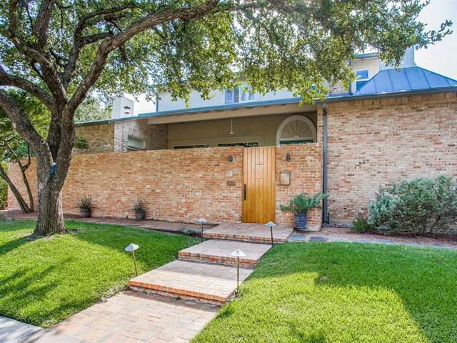 4000 Hanover Street, University Park, TX 75225 (MLS #14434189) :: The Daniel Team