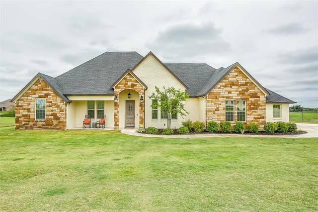 209 Canyon Creek Circle, Weatherford, TX 76087 (MLS #14434233) :: The Kimberly Davis Group