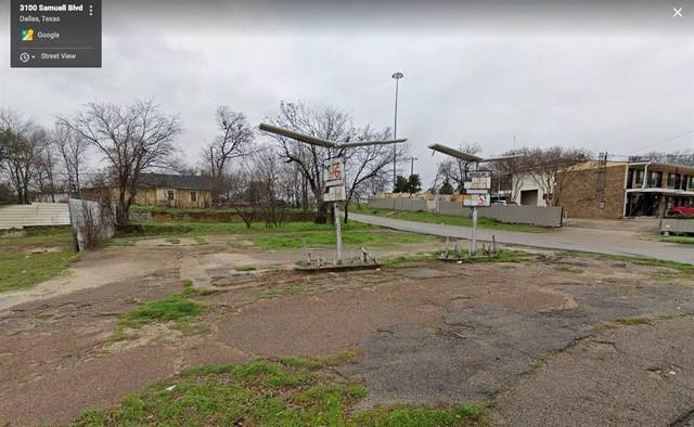 3100 Samuell Boulevard, Dallas, TX 75223 (MLS #14434309) :: All Cities USA Realty