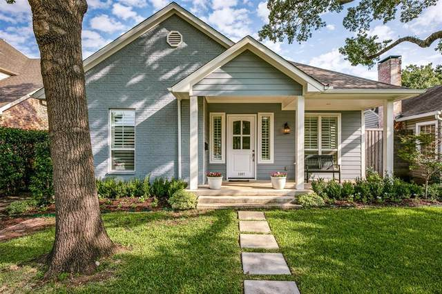 5007 Stanford Avenue, Dallas, TX 75209 (MLS #14434399) :: The Kimberly Davis Group