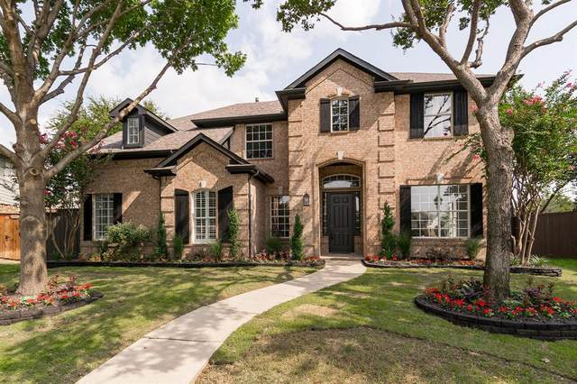 9910 Madrone Drive, Frisco, TX 75033 (MLS #14434430) :: Real Estate By Design
