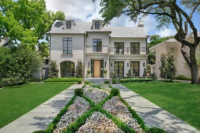 3414 Beverly Drive, Highland Park, TX 75205 (MLS #14434445) :: Front Real Estate Co.