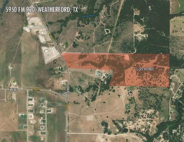 5950 Fm 920- A, Weatherford, TX 76088 (MLS #14434528) :: Keller Williams Realty