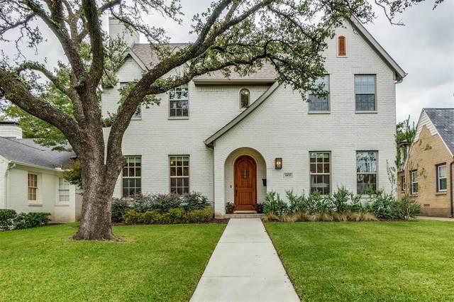 6422 Westlake Avenue, Dallas, TX 75214 (MLS #14434623) :: The Mitchell Group