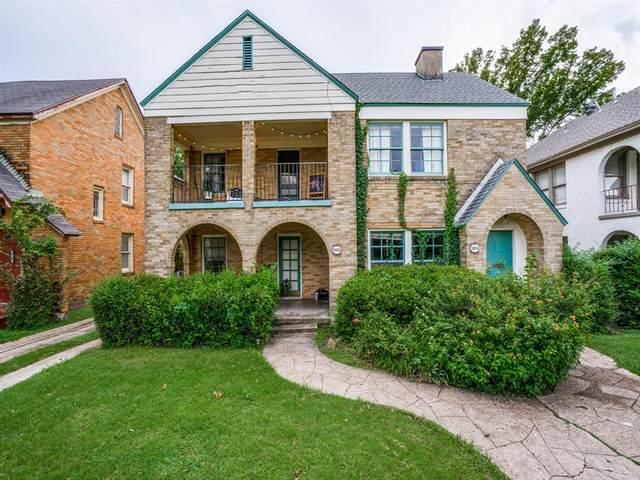 5806 Goodwin Avenue, Dallas, TX 75206 (MLS #14434740) :: Front Real Estate Co.