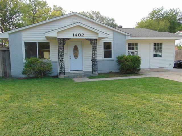1402 Longview Street, Mesquite, TX 75149 (MLS #14434829) :: North Texas Team | RE/MAX Lifestyle Property