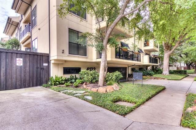 4122 Avondale Avenue #206, Dallas, TX 75219 (MLS #14435348) :: Real Estate By Design