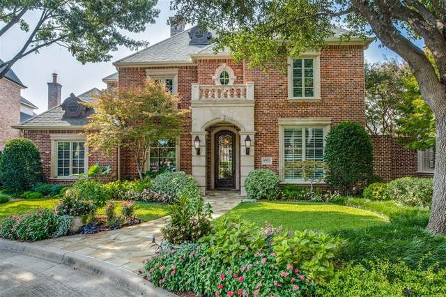 6920 Oak Manor Drive, Dallas, TX 75230 (MLS #14435575) :: The Tierny Jordan Network