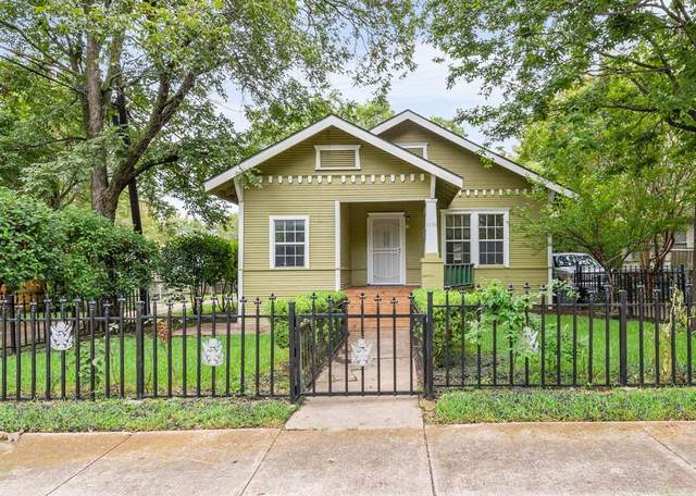 1116 W Canty Street, Dallas, TX 75208 (MLS #14435661) :: The Daniel Team