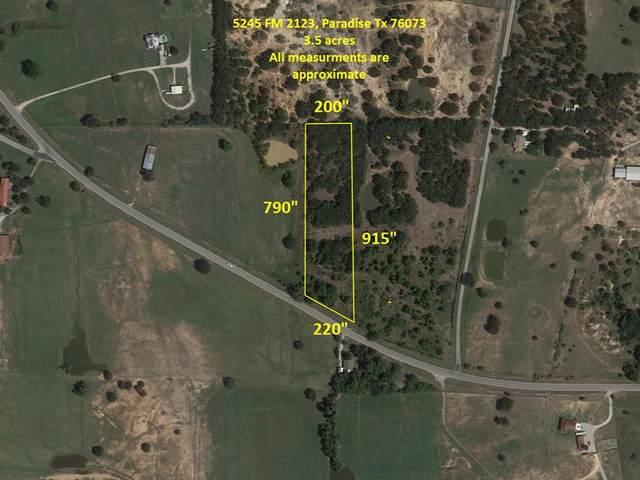 5245 Fm 2123, Paradise, TX 76073 (MLS #14436024) :: Trinity Premier Properties