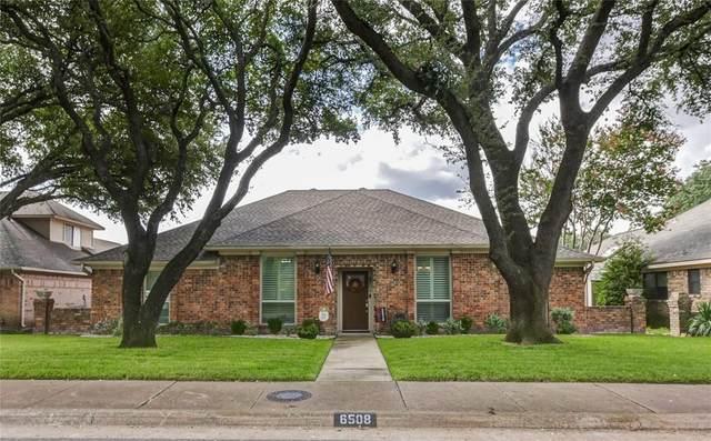 6508 Camille Avenue, Dallas, TX 75252 (MLS #14436116) :: The Paula Jones Team   RE/MAX of Abilene