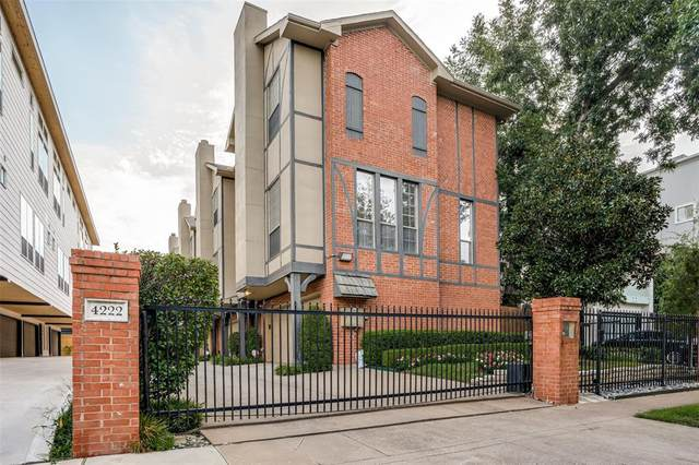 4222 Bowser Avenue C, Dallas, TX 75219 (MLS #14436214) :: Real Estate By Design