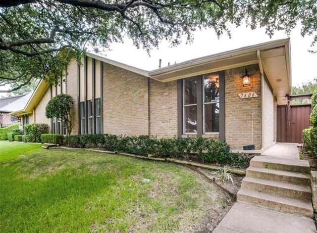 7606 Wellcrest Drive, Dallas, TX 75230 (MLS #14436392) :: The Hornburg Real Estate Group