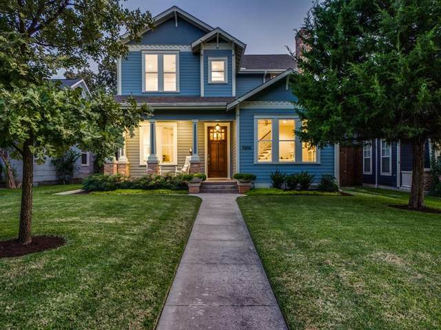 5206 Miller Avenue, Dallas, TX 75206 (MLS #14436459) :: The Hornburg Real Estate Group