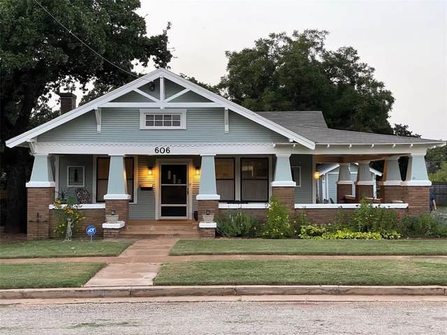 606 W 5th Street, Cisco, TX 76437 (MLS #14436579) :: Real Estate By Design