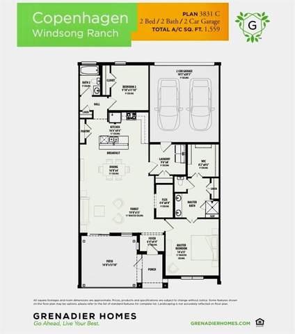 3841 Marigold Lane, Prosper, TX 75078 (MLS #14436690) :: The Hornburg Real Estate Group