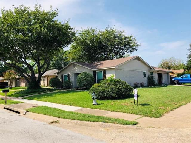 6437 Heather Drive, Watauga, TX 76148 (MLS #14436749) :: Justin Bassett Realty