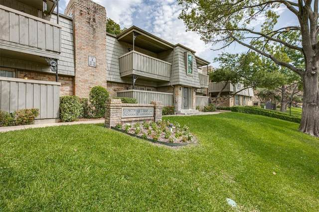 7705 Meadow Park Drive #110, Dallas, TX 75230 (MLS #14436874) :: Real Estate By Design
