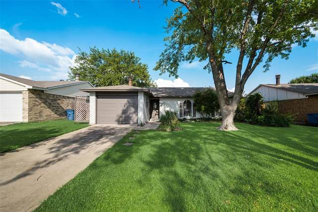 703 Hill Haven Drive, Allen, TX 75002 (MLS #14437183) :: The Mitchell Group