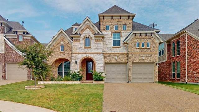 4013 Silk Vine Court, Fort Worth, TX 76262 (MLS #14437186) :: Justin Bassett Realty