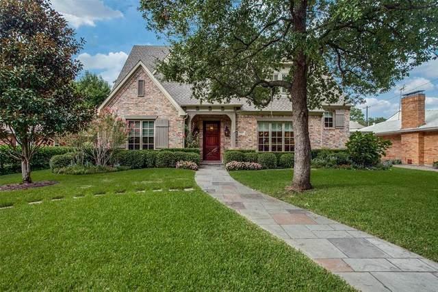 7527 Caruth Boulevard, Dallas, TX 75225 (MLS #14437198) :: Team Tiller