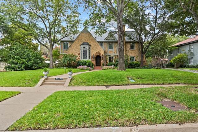2323 Medford Court W, Fort Worth, TX 76109 (MLS #14437427) :: Front Real Estate Co.