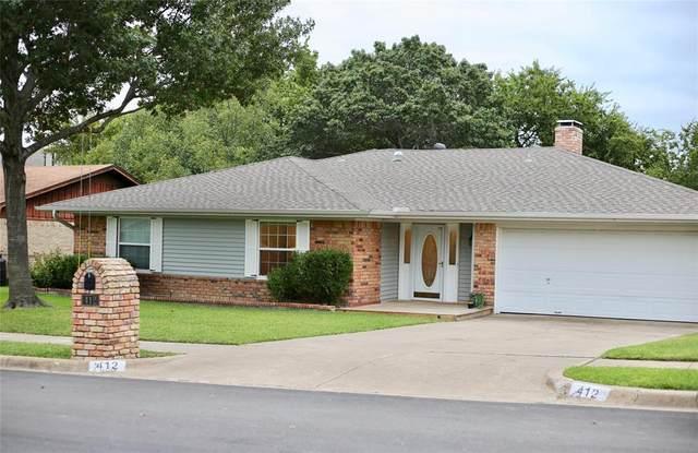 412 Rhineland Road, Benbrook, TX 76126 (MLS #14437720) :: Maegan Brest   Keller Williams Realty