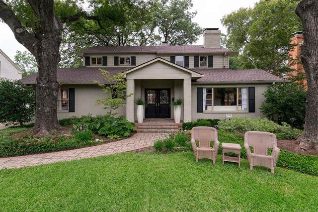 5430 W University Boulevard, Dallas, TX 75209 (MLS #14437854) :: The Kimberly Davis Group
