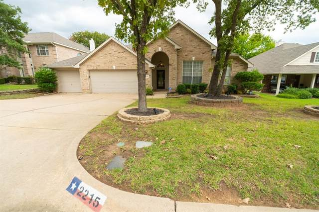 2215 Forest Park Circle, Mansfield, TX 76063 (MLS #14438144) :: The Mitchell Group