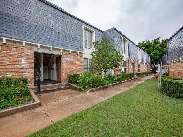 521 W Lookout Drive #217, Richardson, TX 75080 (MLS #14438286) :: Robbins Real Estate Group