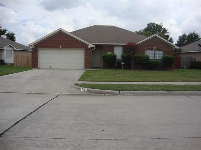 576 Asbury Drive, Saginaw, TX 76179 (MLS #14438326) :: RE/MAX Landmark