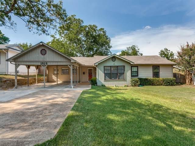 1513 Tyler Street, Arlington, TX 76012 (MLS #14438772) :: The Heyl Group at Keller Williams