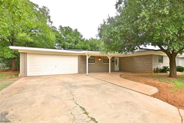 861 Westwood Drive, Abilene, TX 79603 (MLS #14439123) :: The Heyl Group at Keller Williams