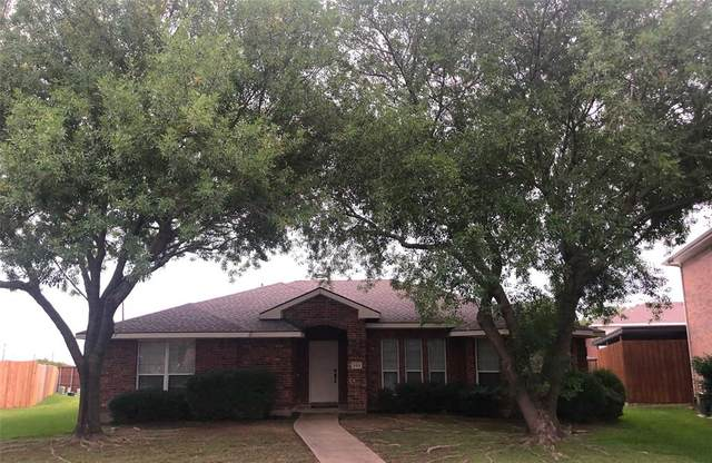 203 Happy Trails Court, Allen, TX 75002 (MLS #14439192) :: The Kimberly Davis Group