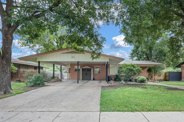 4113 Bonnie Drive, Fort Worth, TX 76116 (MLS #14439341) :: Front Real Estate Co.
