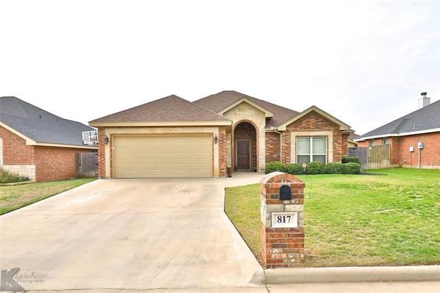 817 Flat Water Drive, Abilene, TX 79602 (MLS #14439471) :: The Heyl Group at Keller Williams
