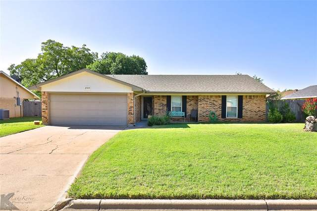 2949 Arlington Avenue, Abilene, TX 79606 (MLS #14439660) :: The Tierny Jordan Network