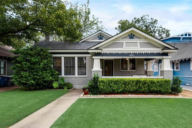 5823 Prospect Avenue, Dallas, TX 75206 (MLS #14439680) :: RE/MAX Landmark