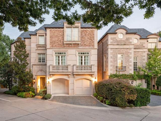 3901 Turtle Creek Boulevard #2, Dallas, TX 75219 (MLS #14439690) :: Real Estate By Design