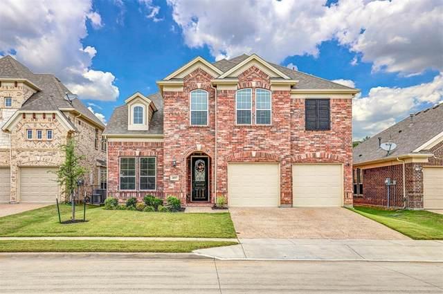 4017 Silk Vine Court, Fort Worth, TX 76262 (MLS #14439778) :: The Tierny Jordan Network