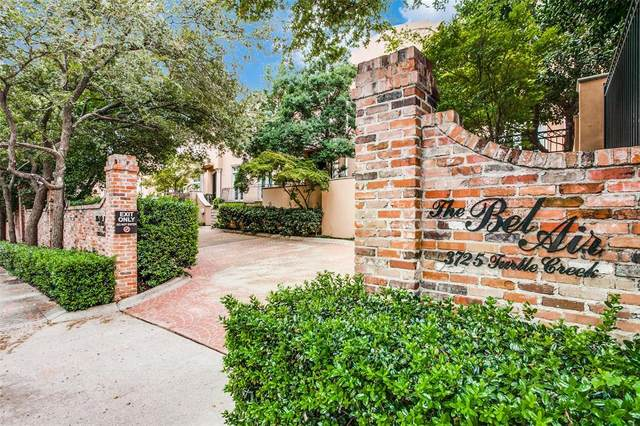 3725 Turtle Creek Boulevard I, Dallas, TX 75219 (MLS #14439829) :: Team Tiller